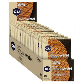 GU Energy Stroop Wafel Box 16x32g, Caramel Coffee